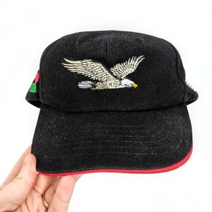 Vintage Embroidered Eagle Trucker Hat